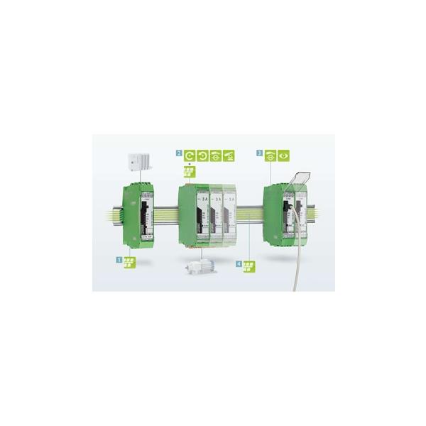 Hybrid motor starters